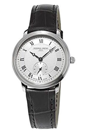 Frederique Constant Frederique Constant Damen-Armbanduhr XS Slim Line Analog Quarz Leder FC-235M1S6
