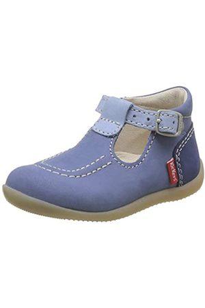 Kickers Kickers Baby Mädchen Bonbek-2 Ballerinas, Blau (Bleu Tricolore 53)