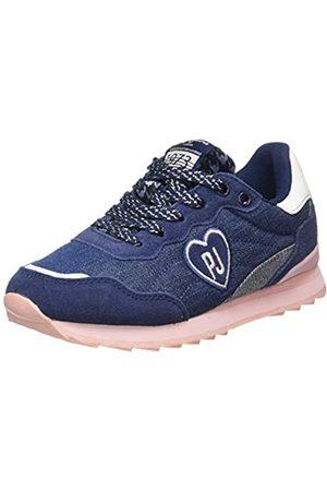 Pepe Jeans Pepe Jeans London Mädchen Belle Denim Sneaker, Blau (Navy 595)