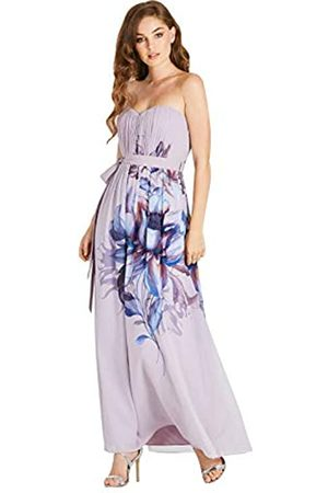 Little Mistress Little Mistress Damen Corina Floral Bandeau Maxi Dress Kleid