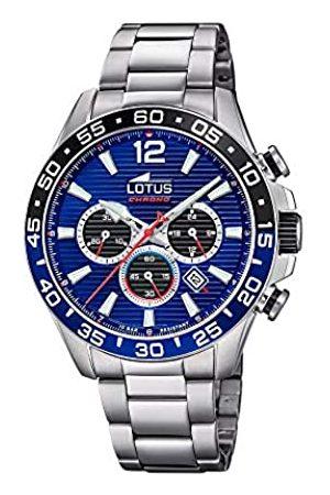 Lotus Herren Chronograph Quarz Uhr mit Edelstahl Armband 18696/2