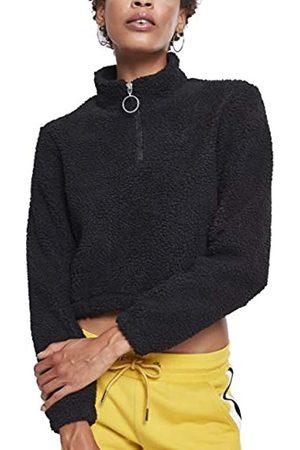 Urban classics Urban Classics Damen Ladies Short Sherpa Troyer Pullover
