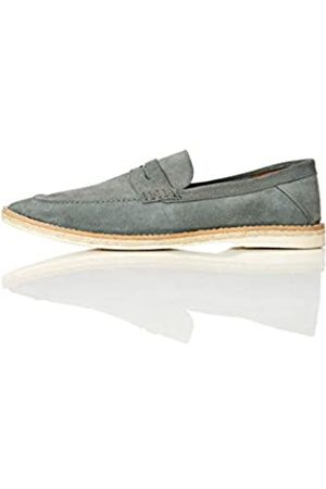 FIND Find. Ezra Jute Stamp Down Loafer, Blau (Sky Blue)