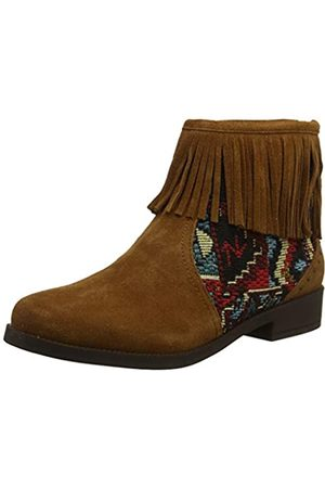 Desigual Damen Shoes Ottawa Tapestry Stiefeletten, (Chocolate 6053)