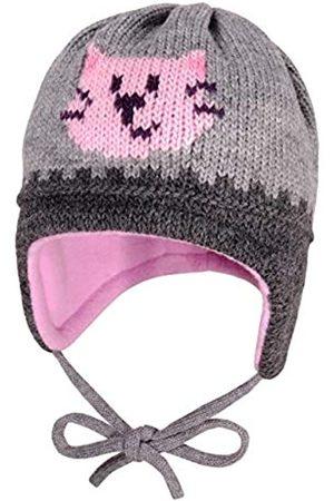 maximo Maximo Baby-Mädchen mit Katzengesicht und Bindeband Mütze