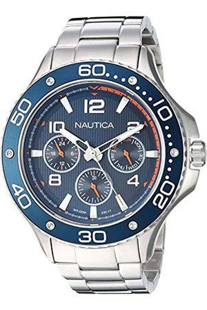 Nautica NauticaHerrenAnalogQuarzUhrmitEdelstahlArmbandNAPP25006