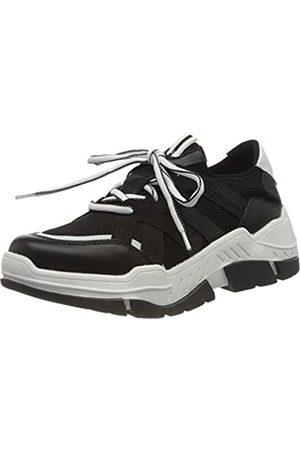 s.Oliver S.Oliver Damen 5-5-23666-24 Sneaker, Schwarz (Black 001)