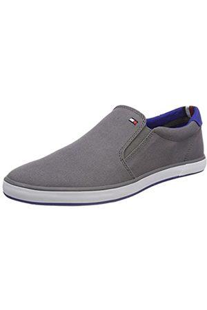 Tommy Hilfiger Tommy Hilfiger Herren Iconic Slip ON Sneaker, Grau (Steel Grey 039)