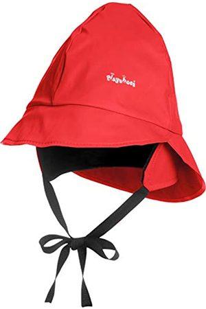 Playshoes Playshoes Baby Regen-Mütze, wind- und wasserdichte Unisex-Mütze für Jungen und Mädchen mit Fleecefutter, mit Playshoes-Motiv