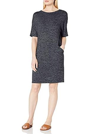 Daily Ritual Daily Ritual Cozy Knit Seamed Pocket Dresses
