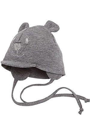 Sterntaler Unisex Schirmmütze mit Bindebändern, Nackenschutz und niedlichem Bärchen-Motiv, Alter: 5-6 Monate, Größe: 43