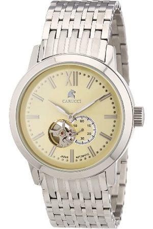Carucci Carucci Watches Herren-Armbanduhr XL Analog Automatik Edelstahl CA2193CR