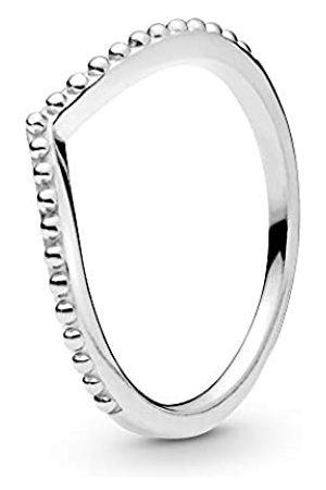 PANDORA Pandora Damen Metallperlen Wishbone-Ring Sterling 196315-52