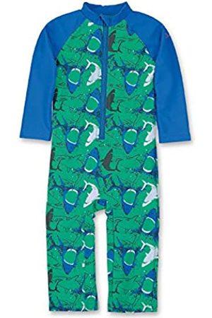 Sterntaler Kinder Jungen Schwimmanzug mit Windeleinsatz, Einteiler, UV-Schutz 50+, Alter: 9-12 Monate, Größe: 80