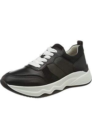 Gabor Gabor Shoes Damen Gabor Jollys Sneaker, Schwarz (Schwarz/Weiss 27)