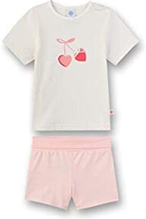 Sanetta Sanetta Baby-Mädchen Pyjama lang Zweiteiliger Schlafanzug