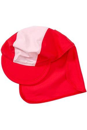 Playshoes Playshoes Unisex - UV-Schutz nach Standard 801 und Oeko-Tex Standard 100 Bademütze Basic rot/rosa 460065, Gr. 53 (cm)