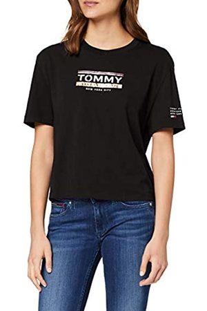 Tommy Hilfiger Tommy Jeans Damen Tjw Sleeve Detail Logo Tee T-Shirt