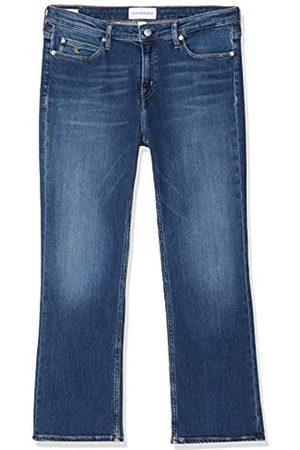 Calvin Klein Calvin Klein Jeans Damen Rise Crop Flare Straight Jeans
