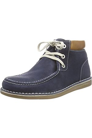 Birkenstock Birkenstock Unisex-Erwachsene Pasadena High Kids Suede Leather Desert Boots, Blau (Dark Blue)