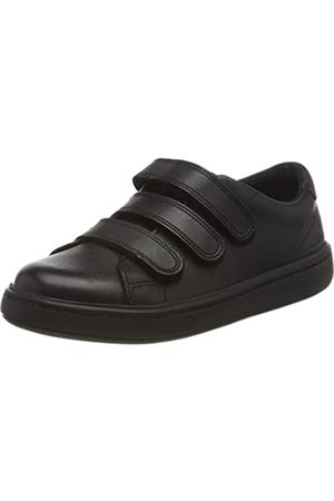 Clarks Clarks Jungen Street Swift K Sneaker, Schwarz (Black Leather Black Leather)