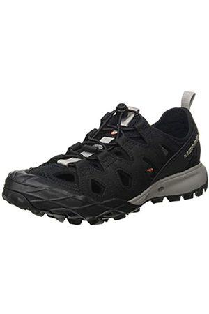 Merrell Merrell Damen Choprock Leather Shandal Aqua Schuhe, Schwarz (Black Black)