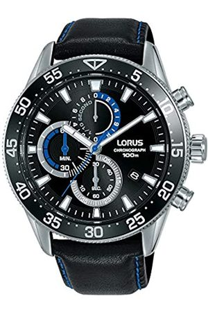 Lorus LORUS Herren Analog Quarz Uhr mit Echtes Leder Armband RM343FX9
