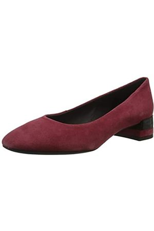 Geox Geox Damen D CHLOO MID B Pumps, Rot (Bordeaux C7005)