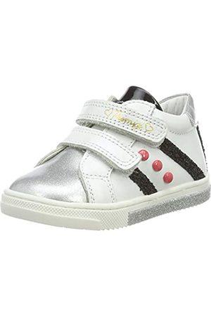 Primigi PRIMIGI Baby Mädchen PGR 44061 Sneaker, Weiß (Bianco/Argento 4406111)