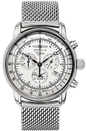 Zeppelin Zeppelin Herren-Armbanduhr XL Chronograph Quarz Edelstahl 7680M1