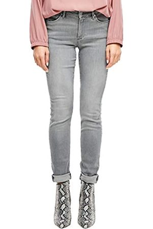 s.Oliver S.Oliver RED LABEL Damen Izabell Skinny: Stretchjeans grey 36.30