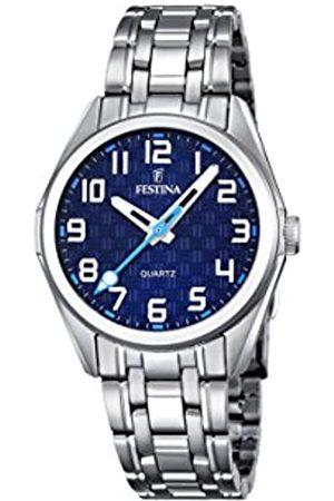 Festina Festina Unisex Analog Quarz Uhr mit Edelstahl Armband F16903/2