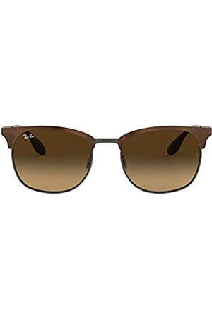 Ray-Ban Ray-Ban Unisex Sonnenbrille Mod. 3546 Gestell: braun, Gläser: lichtbraun braunverlauf 188/13)