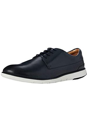 Clarks Clarks Herren Helston Walk Derbys, Blau (Navy Leather Navy Leather)