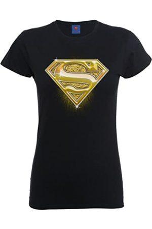 DC DC Comics Damen T-Shirt Dc Comics Official Superman Bling Logo