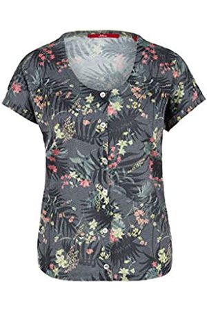 s.Oliver S.Oliver RED Label Damen Jerseyshirt mit Knopfleiste 38