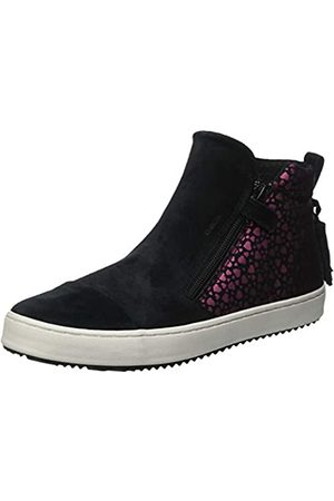 Geox Mädchen J Kalispera Girl F Hohe Sneaker, (Black C9999)