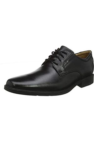 Clarks Clarks Herren Tilden Vibe Derbys, Schwarz (Black Leather)