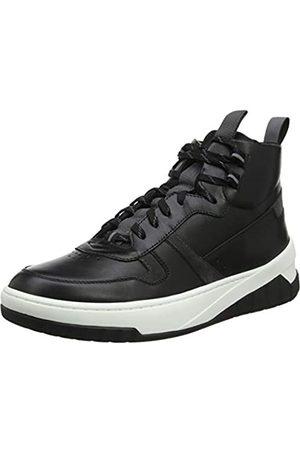 HUGO BOSS HUGO Madison_Hito_nasd, Herren Hohe Sneaker, Schwarz (Black 001)