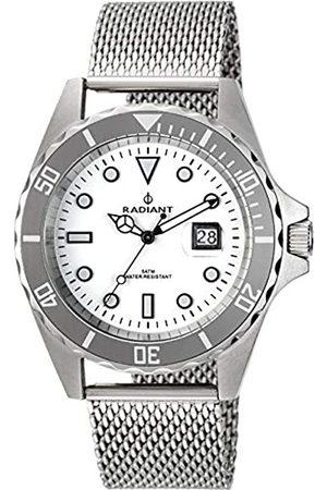 Radiant Herren Analog Quarz Uhr mit Edelstahl Armband RA410209