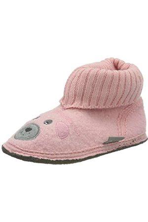Sterntaler Sterntaler Baby Mädchen Hausschuh Lauflernschuhe, Pink (Pink/Grey 5401901)