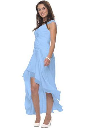 Astrapahl Astrapahl Damen Cocktail Kleid mit schönen Raffungen, Knielang, Einfarbig