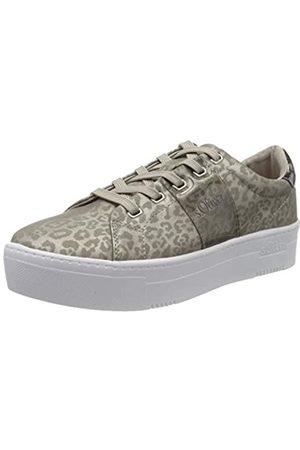 s.Oliver S.Oliver Damen 5-5-23628-24 Sneaker, Braun (Leopard Comb 347)