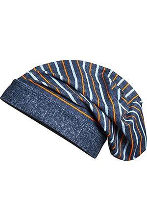 Playshoes Jungen Hüte - Beanie, Bademütze Ringel mit UV-Schutz, Kinderhut, (Jeansblau)