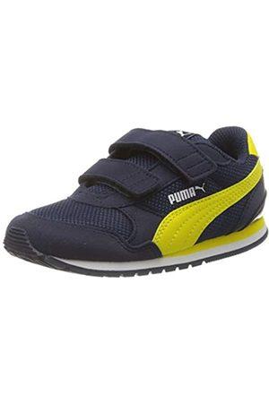 Puma Puma Unisex Baby St Runner V2 Mesh V Inf Sneaker, Blau (Peacoat-Meadowlark White)