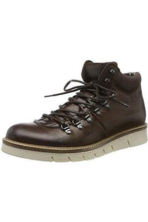 Jack & Jones JACK & JONES Herren JFWCOLUMBUS Leather Klassische Stiefel, Braun (Brown Stone Brown Stone)