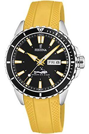 Festina Festina Herren Analog Quarz Uhr mit PU Armband F20378/4