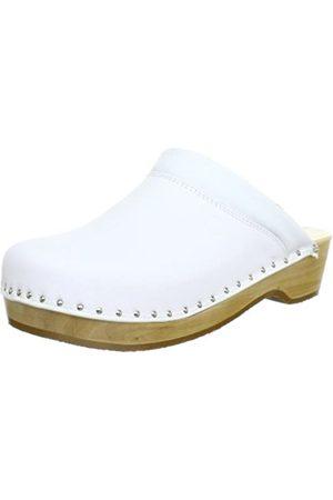 Berkemann Berkemann Unisex-Erwachsene Soft-Toeffler Clogs, Weiß (weiß 100)