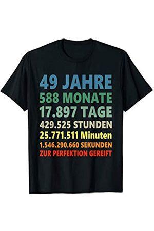 Lustige Geschenke zum Geburtstag 49 Jahre 49. Geburtstag Geschenk T-Shirt