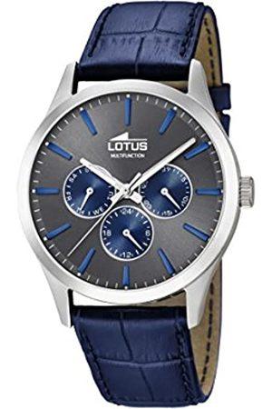 Lotus Lotus Herren Analog Quarz Uhr mit Leder Armband 18576/3